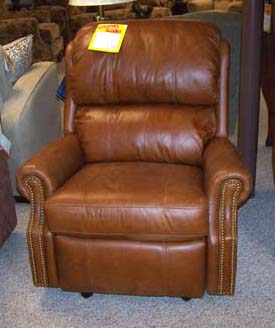 Flexsteel Leather Recliner Retail $1699 $645 Clearance & August Clearance Bargain Outlet low prices islam-shia.org